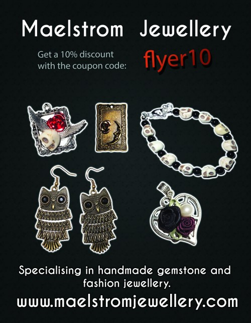 Maelstrom Jewellery 2014 Flyer